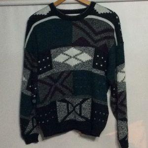 M. Gerald men's XL knit sweater